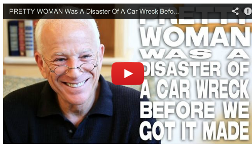 filmcourage :     (  Watch the video interview here  )   PRETTY WOMAN Was A Disaster Of A Car Wreck Before We Got It Made by Gary W. Goldstein via  www.FilmCourage.com .     SUPPORT GARY'S NEW BOOK - Writer's Guide To Hollywood