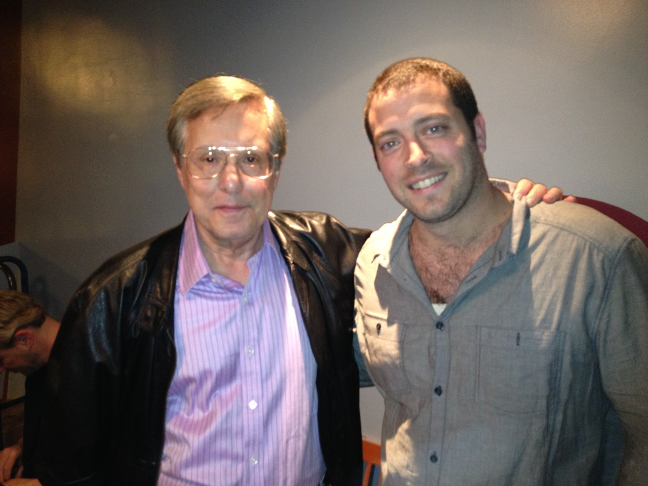 HollyShorts FF Co-Founder/Co-Director  Daniel Sol  and   The Exorcist Director  William Friedkin