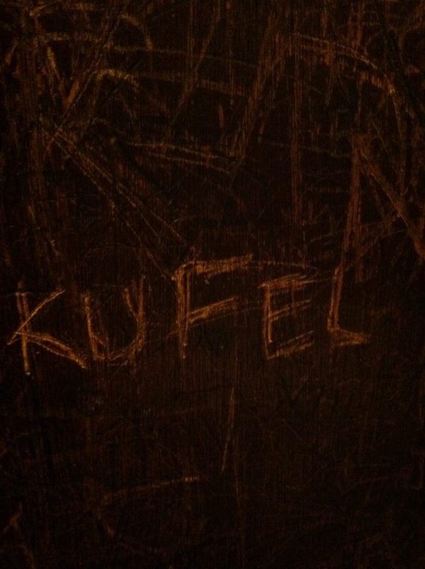 { Leaving my mark at The Cellar was an obvious must. One of my favorite Blacksburg bars, gosh I miss it. }