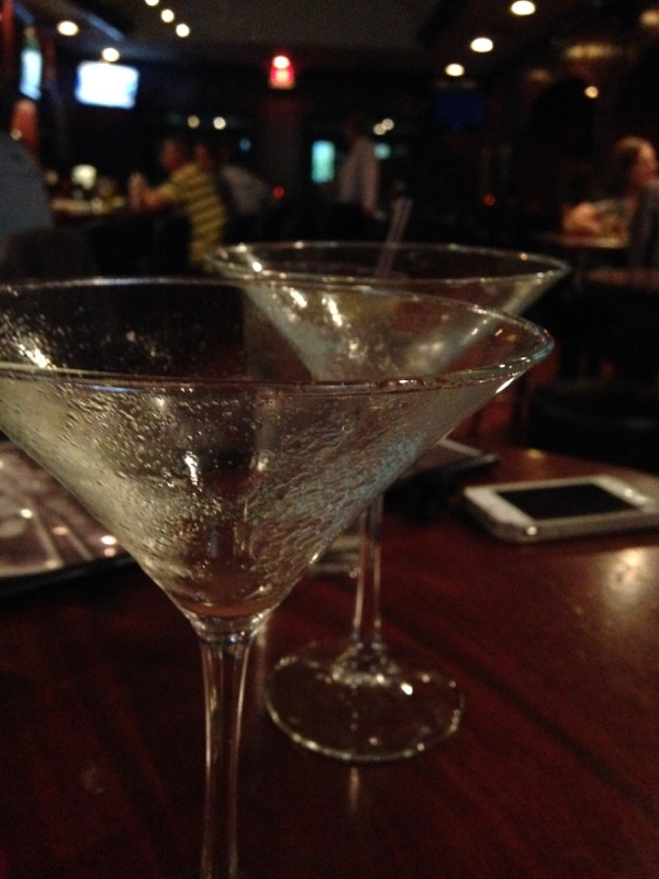 { Martinis aren't just for old ladies, right? Right. }