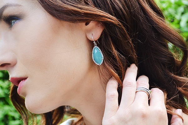 { Just the perfect pop of color. You can never have enough turquoise jewelry. }