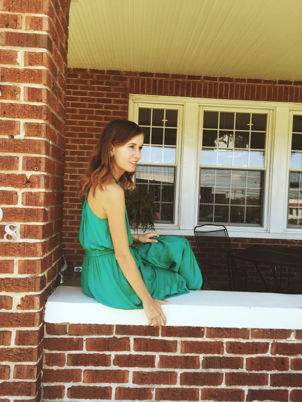 { This  emerald dress  is everything. }