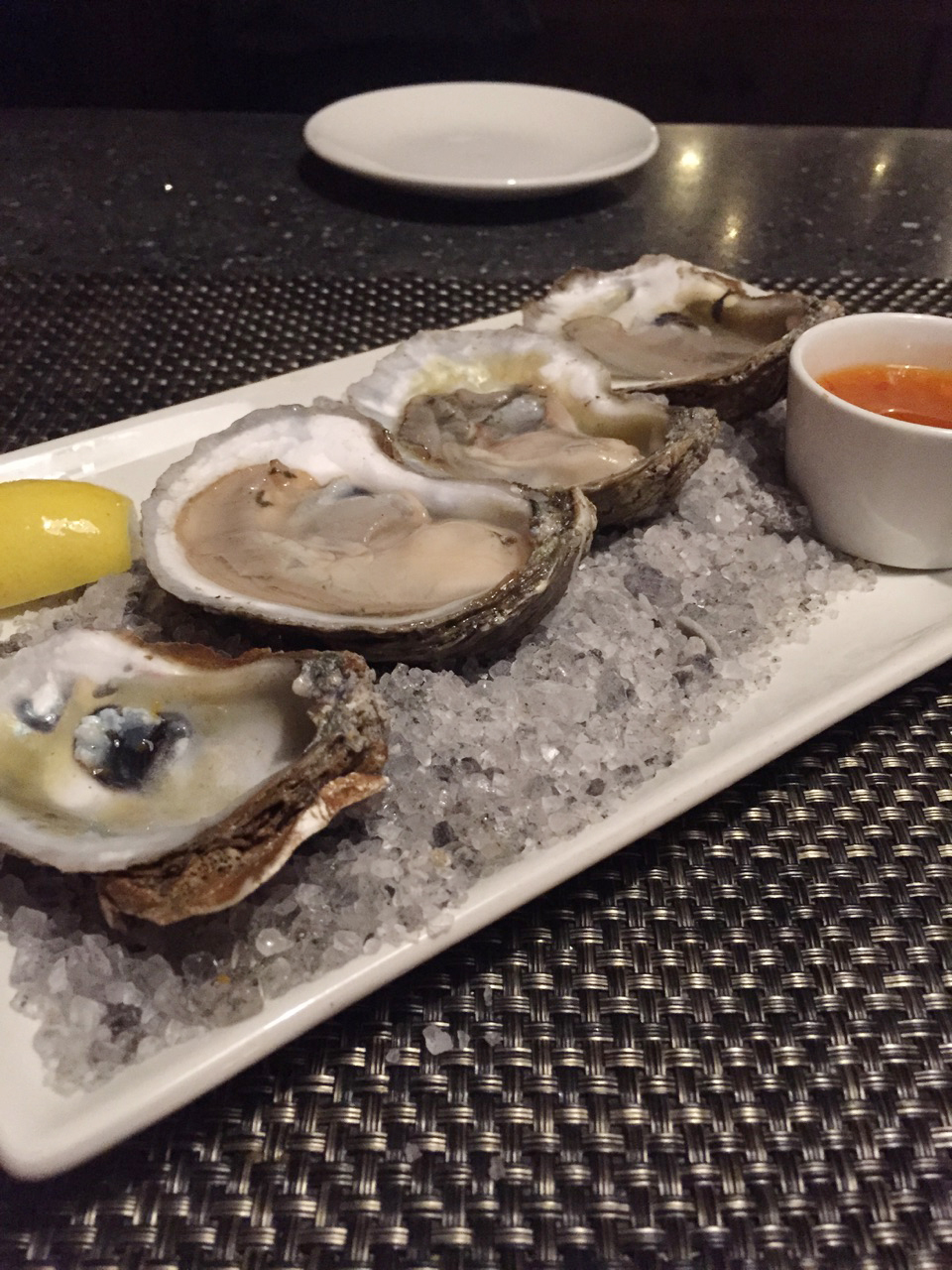 { Apparently it was National Oyster Day. }
