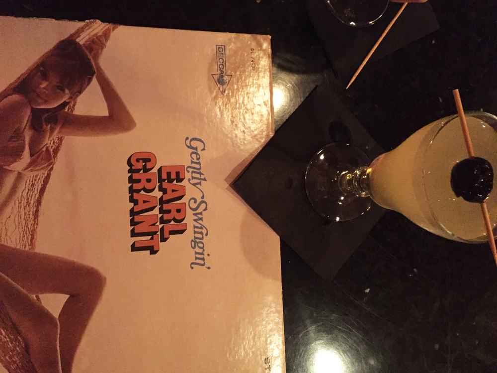 { French 75s were yummy. *Vinyl not included. }