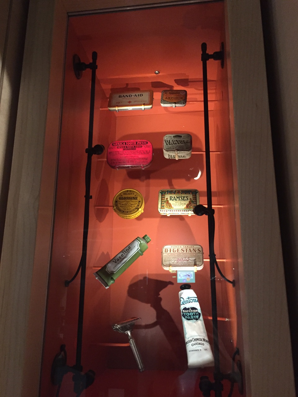 { Natural History Museum; medicine cabinet must-haves }