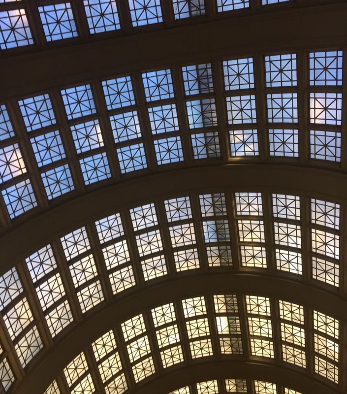 { Union Station; ombre time travel }