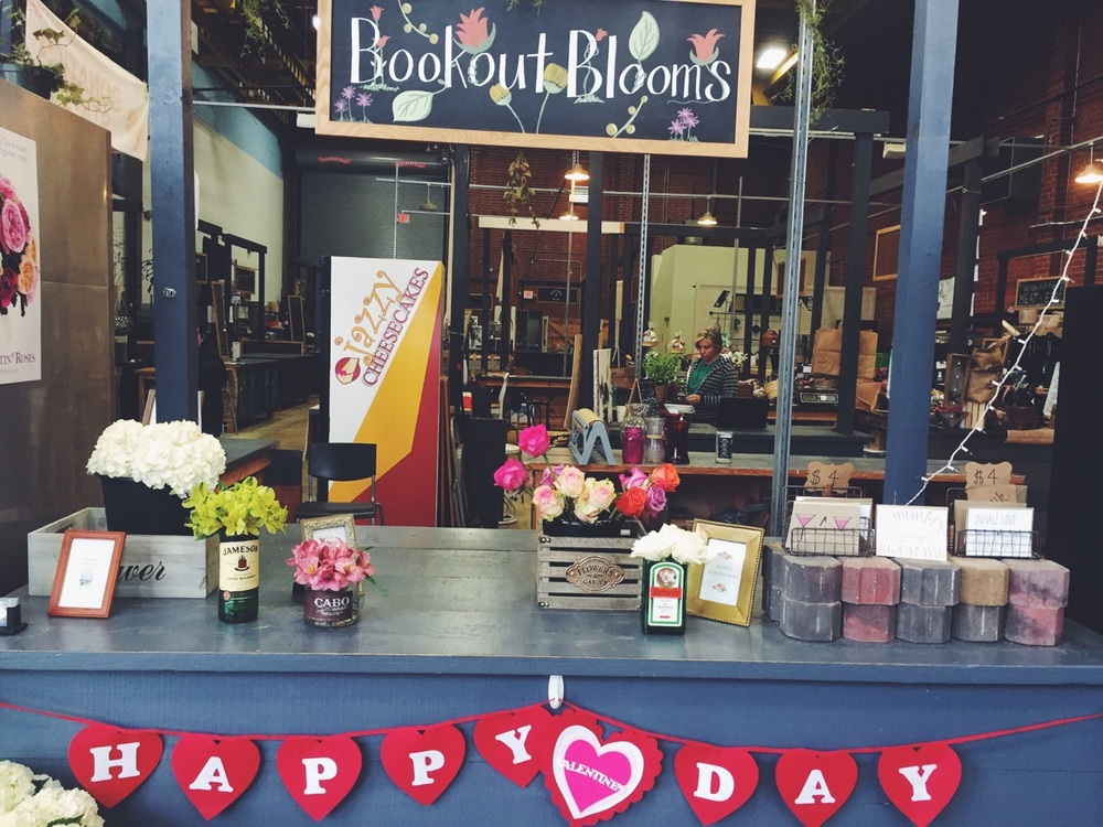 { Bookout Blooms is my go-to spot for long stemmed fresh flowers. Not to mention Atherton Market is the best for all things local! }