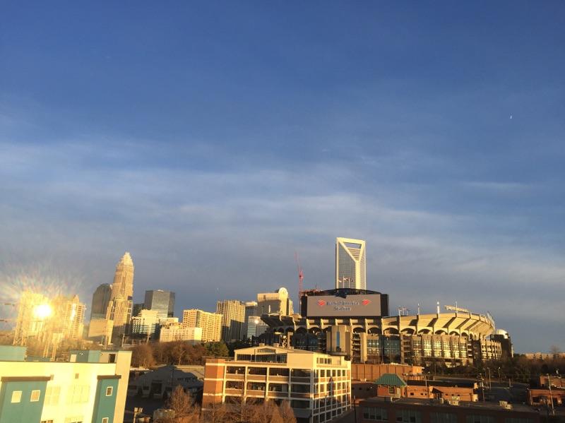 { Charlotte, NC: Super Bowl Sunday }