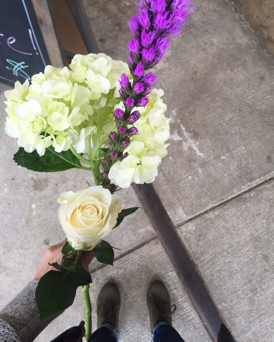 { The most random bouquet of fresh stems is the perfect pick-me-up. }