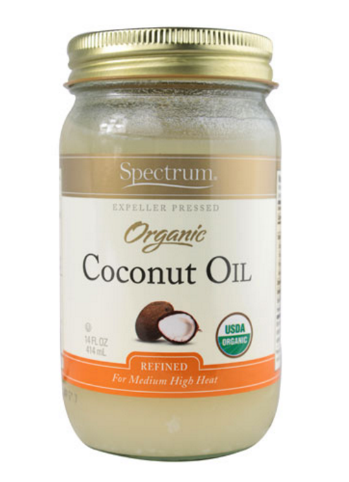 {  This  coconut oil works great or anything that's organic. }