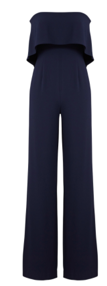 6.  Navy Jumpsuit