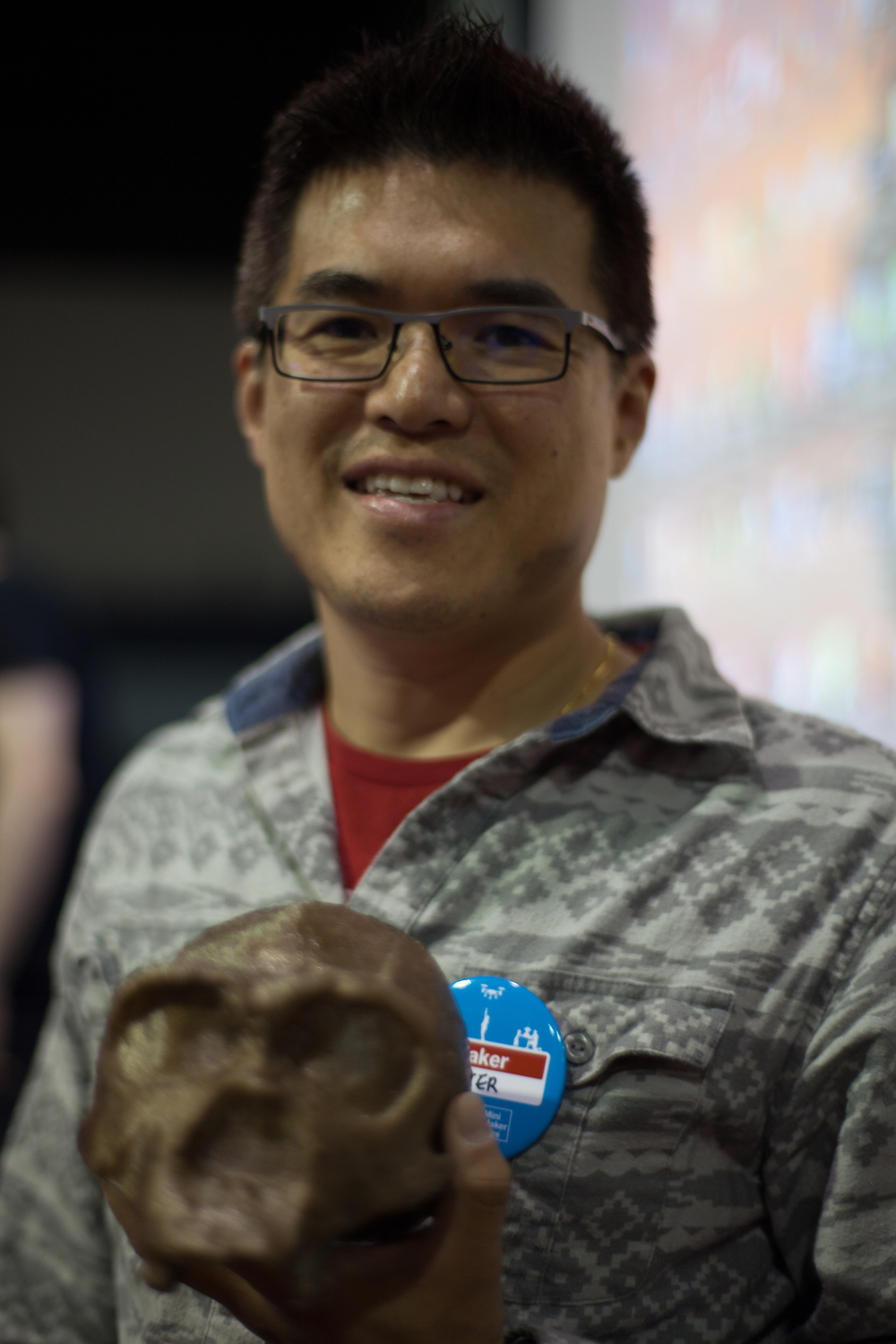 Dr. PeterLau @ Makerwiz, preserving memories of UNESCO World Heritage Sites through 3D printing.
