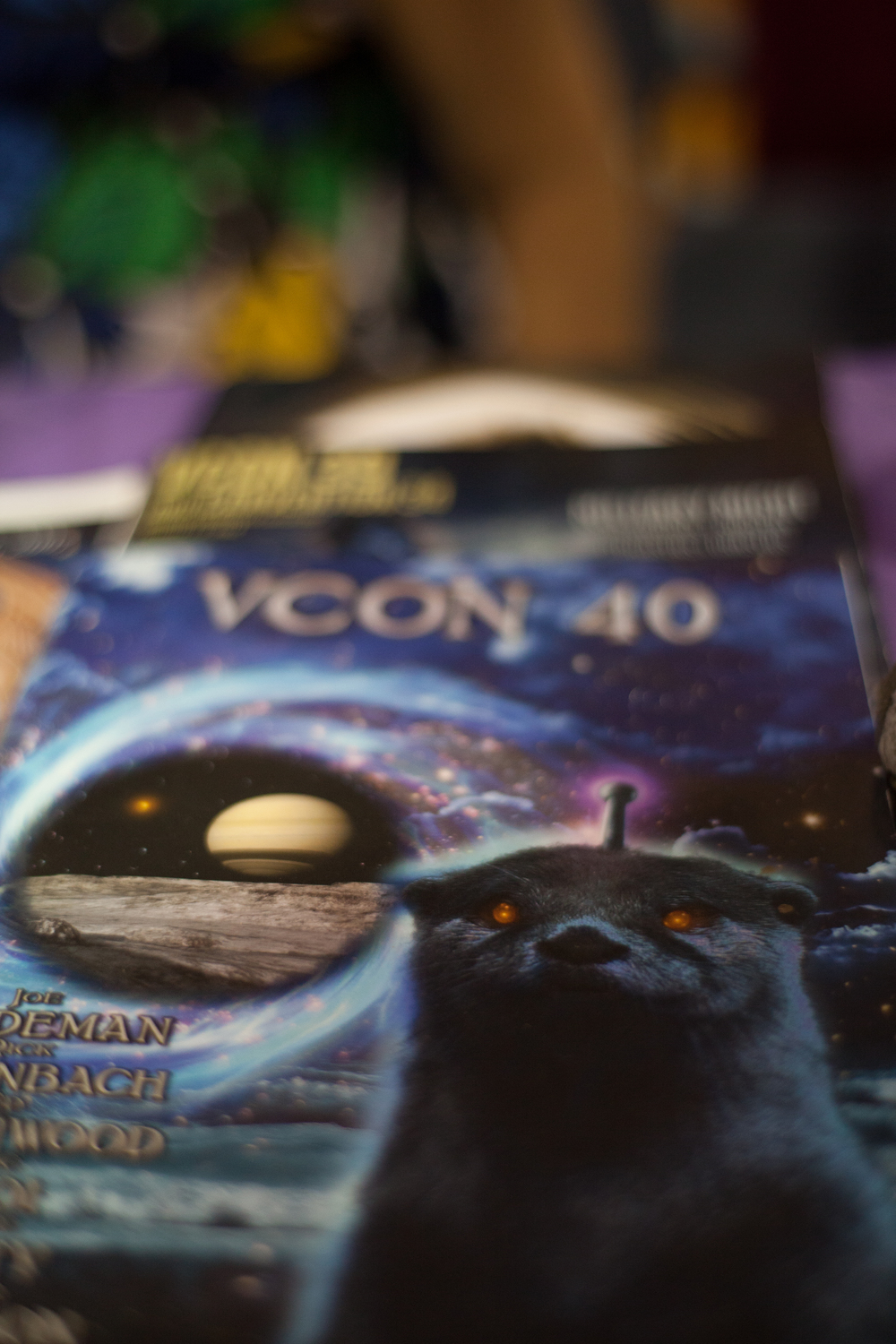 VCON, Vancouver's premier sci-fi, fantasy and games convention.