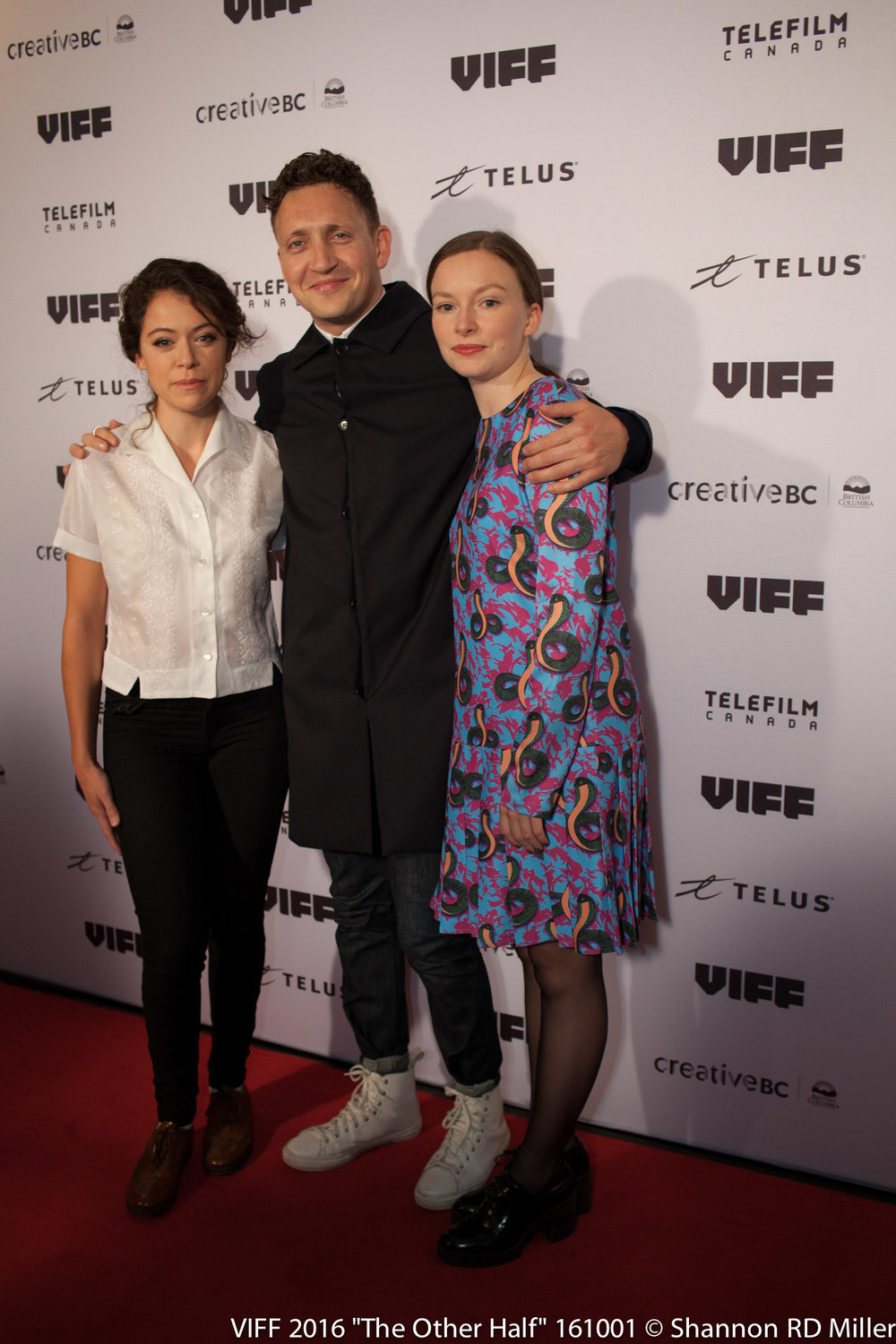 The Other Half Actors Tatianna Maslany and Deragh Campbell with Director Joey Klein.