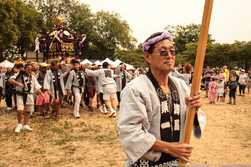 Rakuichi Omikoshi.