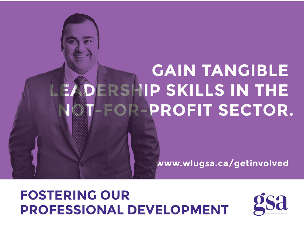 """Gain tangible leadership skills in the Not-for-Profit sector while completing your degree. Contribute to the growth of our community."" - Gautam"