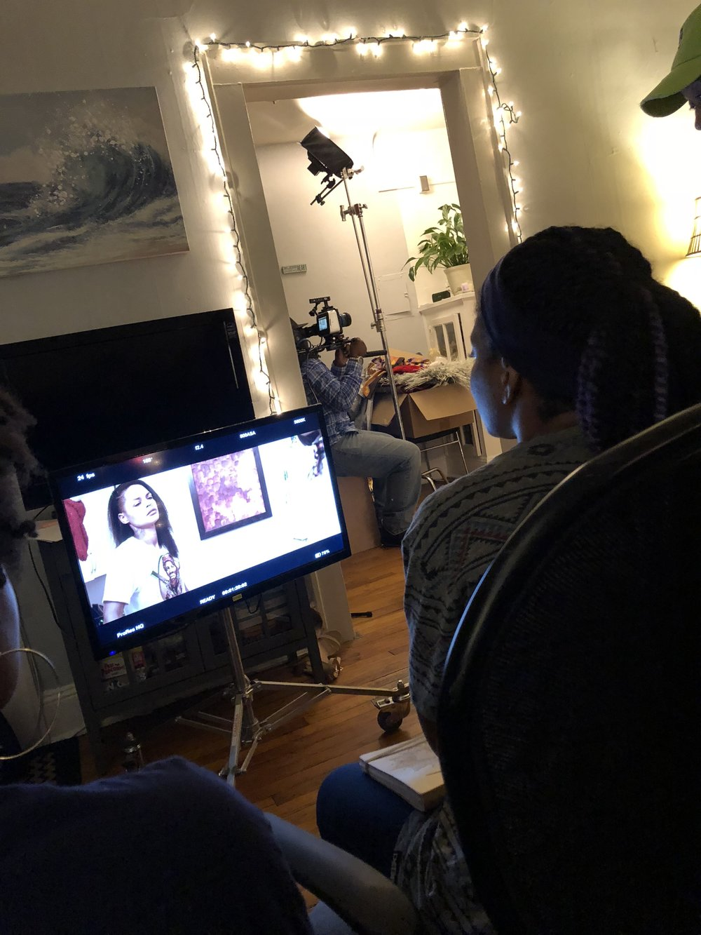 Behind the scenes filming of Queer of a Kind.