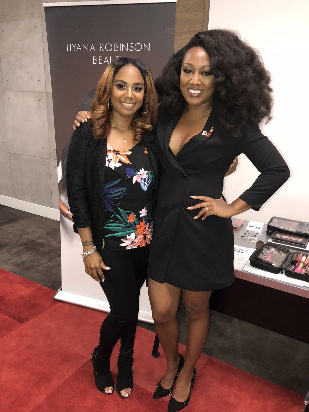 An investment well spent. Jennifer J. with Tiyana Robinson.