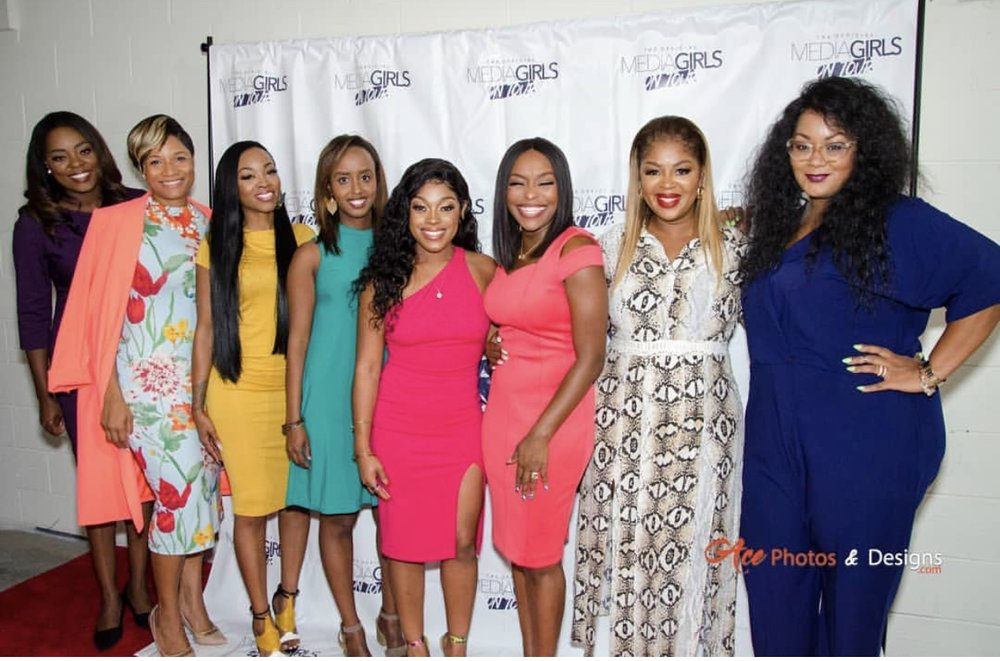 The Media Girls on Tour Atlanta Panelists. Photo cred: Ace Photos & Designs