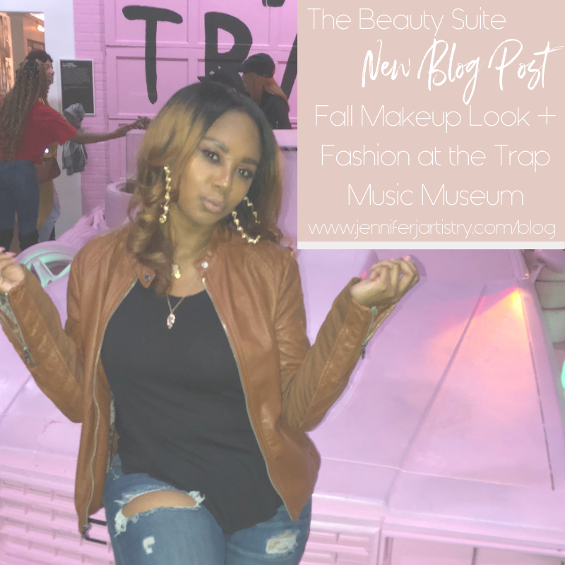 Fall Makeup Look + Fashion at the Trap Music Museum