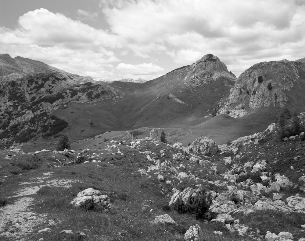 Mountain Pass, Italian Border