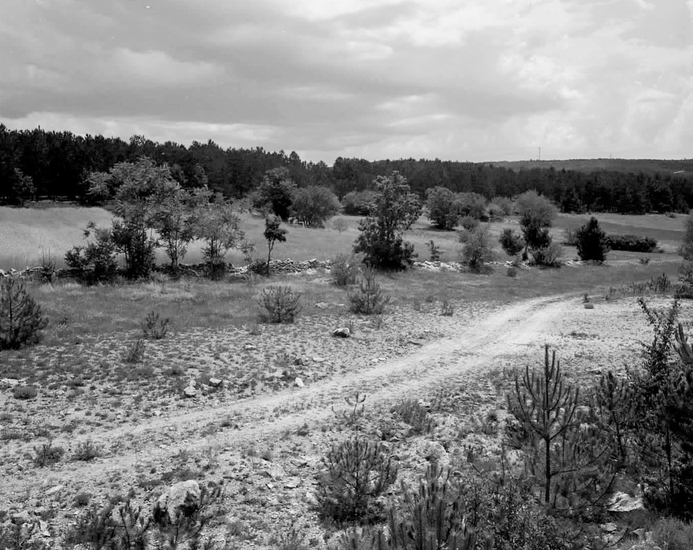 Border Road between Croatia and Bosnia