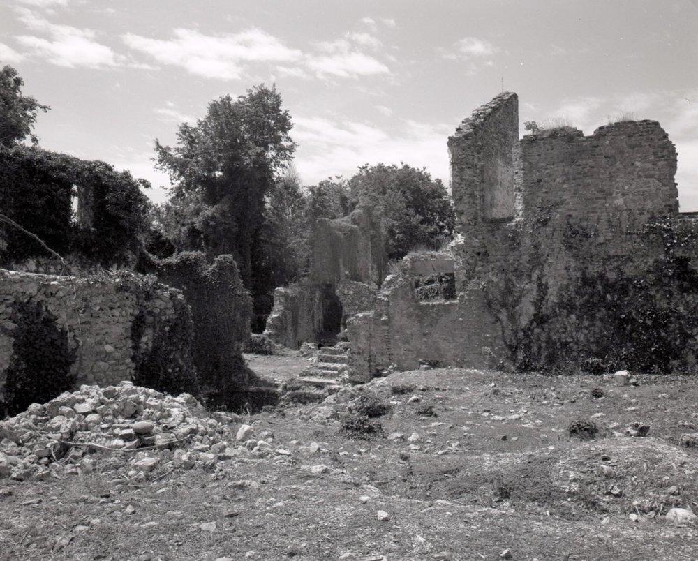 Former fortifications near Gorizia