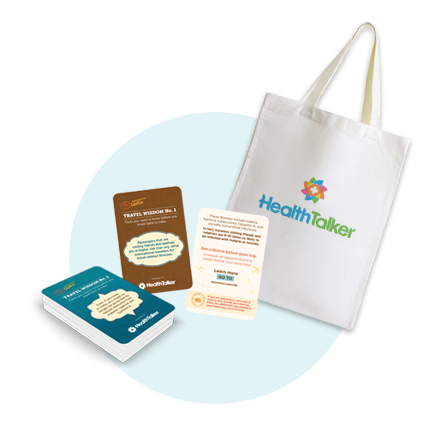 When you register you will get a free welcome kit with all you need to spread the word.