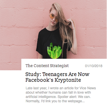 The Content Strategist Post