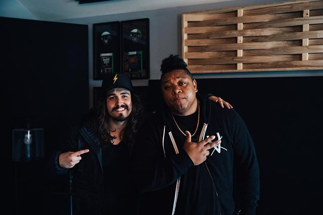 Teamed up with my bro Jordan Feliz to make a Big Tune. We're celebrating life. Stay with me. More music next week #NeverFold