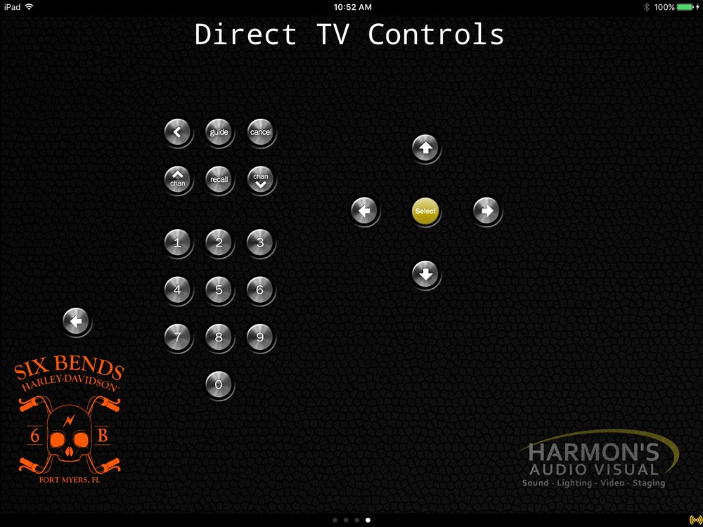 DirecTV Controls