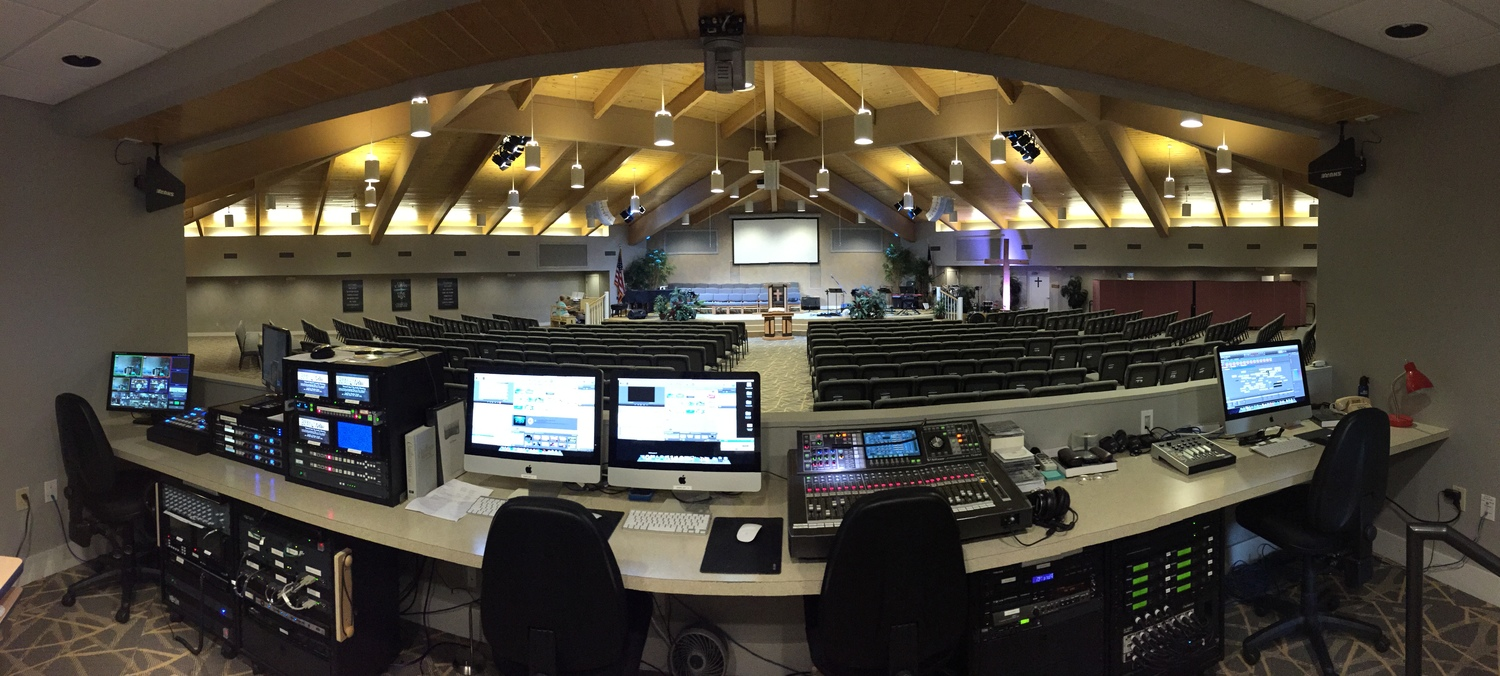House Of Worship Harmons Audio Visual Wiring A For Sound Fort Myers Fl Naples Video Lighting