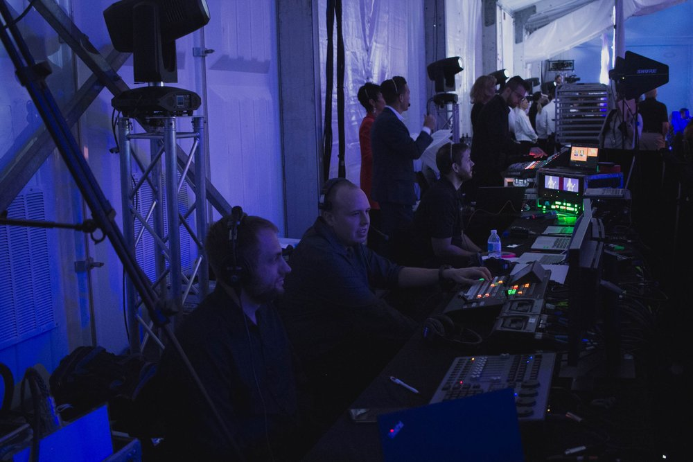 Event Production - Planning an event? We offer complete event production services. From corporate events to concerts and everything in between, our staff is available to meet with you to design an audio visual package based on your specific needs and budget.