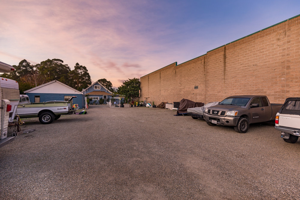 Deep, Fenced Lot with 2 Car Garage/Workshop