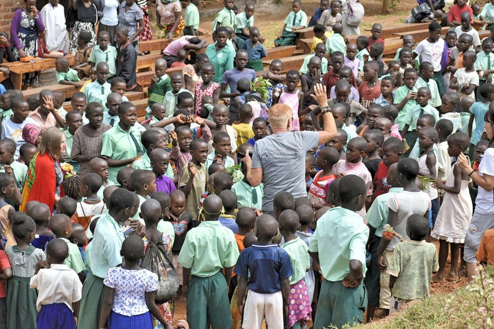 Founder Stephen Smith on the mission in Uganda 2018