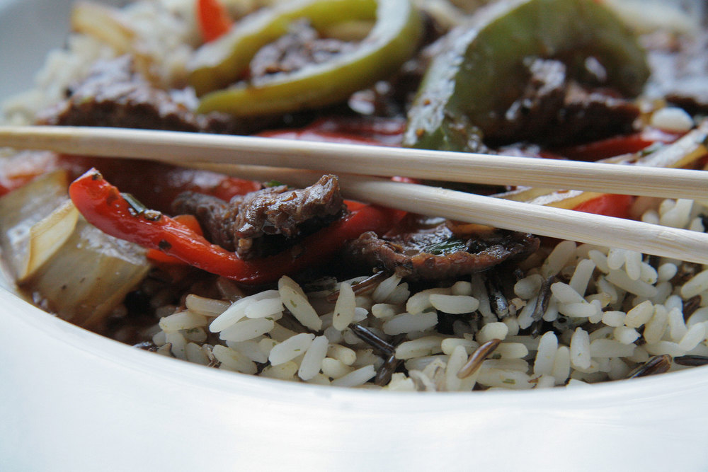 Kung Pao Beef w/Onion & Peppers
