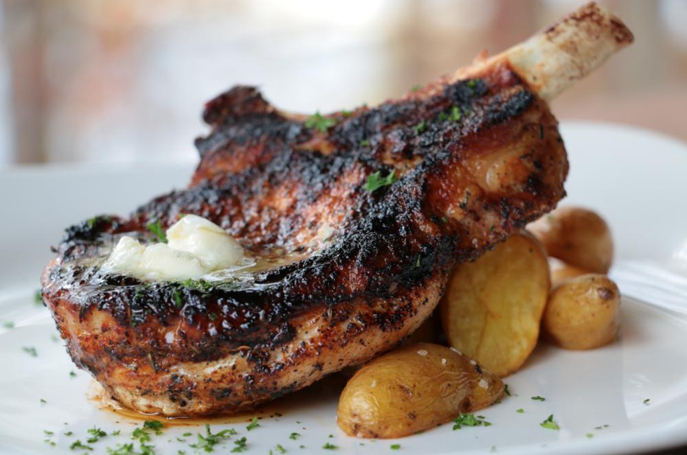 Blackened Pork Chop [gf]