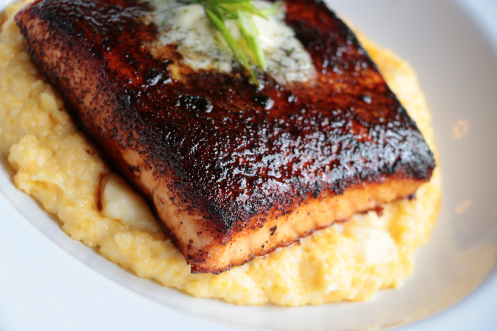 Chile-Dusted Salmon