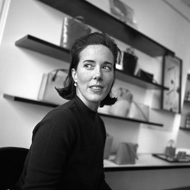 Rest In Peace Kate Spade. 😢 (📷: @wwd / Thomas Iannaccone)