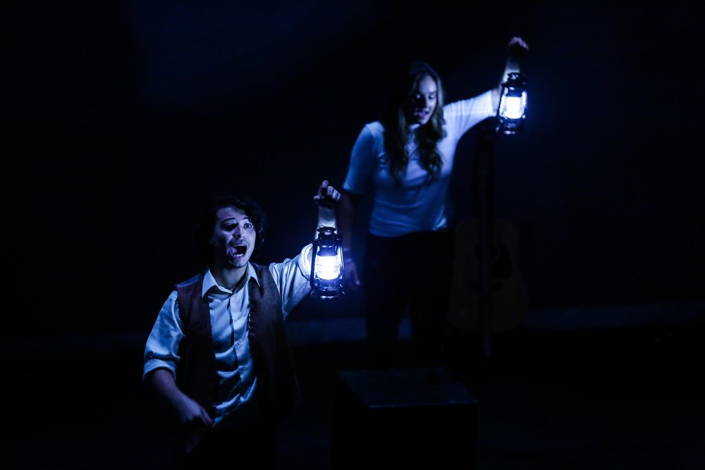 """Vincent stars in  """"And Then...A Science Fiction Folk Event""""  Created by Will Davis  Presented by New York Fringe Festival"""