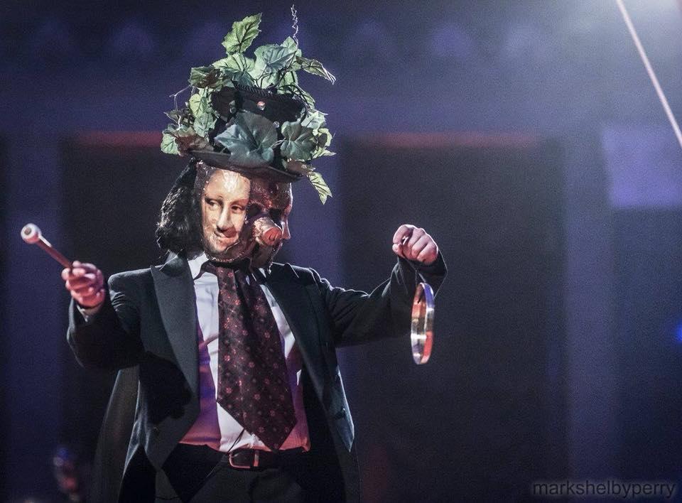 Vincent as Pig King
