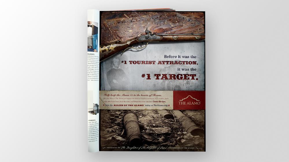 Door Number 3 The Alamo Print Advertising