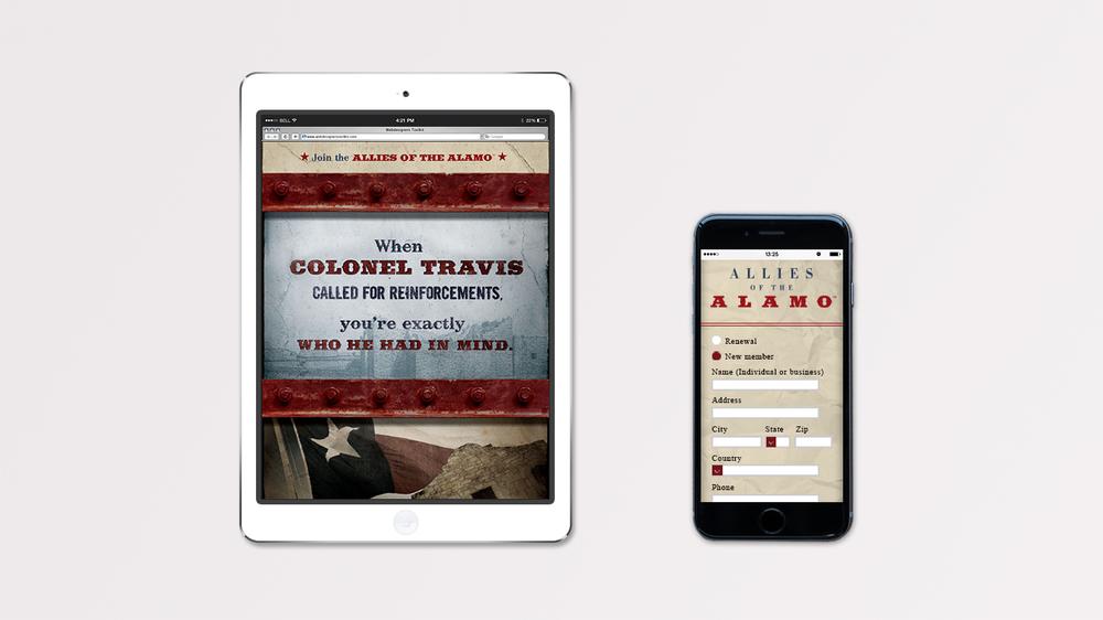 Door Number 3 The Alamo Mobile Advertising