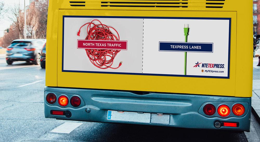 TEXpress_UntangledCampaign_TransitAdOnBus.jpg