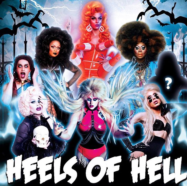 Actual Halloween Night in Dublin anyone?? HEELS OF HELL line up just released with Sharon, Alaska, Adore, Biqtch, Kennedy, Latrice and Miz Cracker plus one more top secret star still to be announced. On sale from this Friday... or presale on Thursday. Link in bio to sign up for presale.