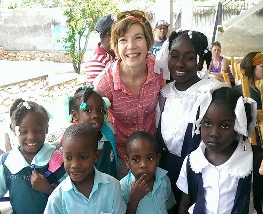 Our Children's Ministry Director went to Haiti to meet some of our sponsored children.
