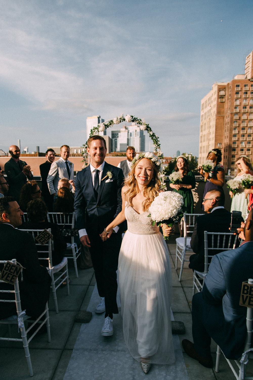 WILLIAMSBURG ROOFTOP WEDDING VERONICA + BEN