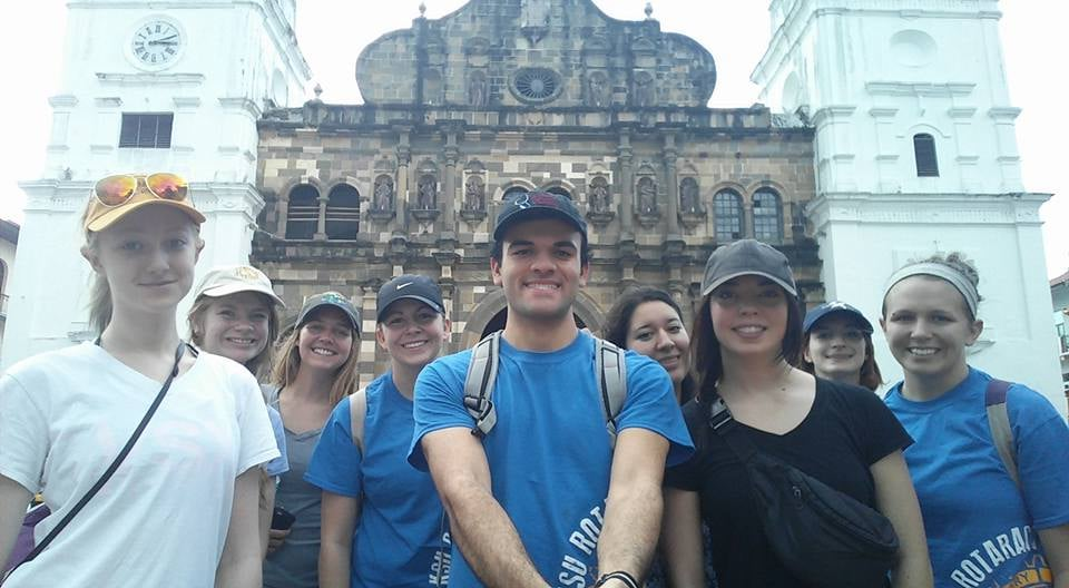 Selfie with San Felipo Cathedral