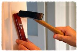Mezuzah on your door    Buy or borrow a Mezuzah for your home or flat.
