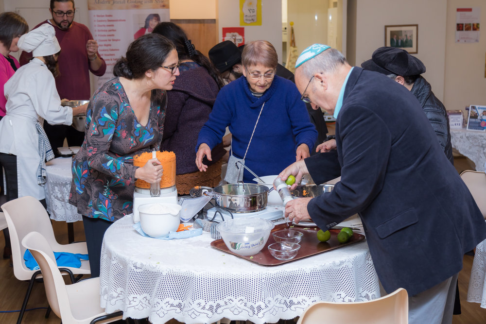 Rosh Hashanah Cuisine Workshop